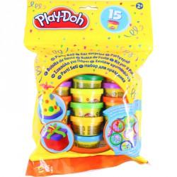 Gyurma szett Play-Doh 15 darabos party készlet Gyurma Play-Doh