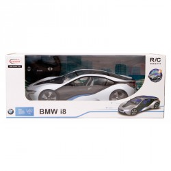 Távirányítós autó Rastar BMW I8 1:14 világítással Játék Rastar