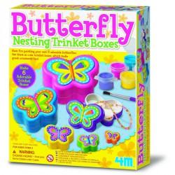 Pillangós fészekrakó dobozka 4M Kreatív készletek 4M
