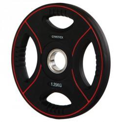 Súlyzótárcsa Gymstick Pro 1,25 kg fekete Sportszer Gymstick