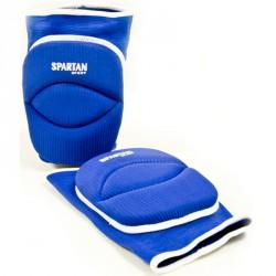 Volley térdvédő felnőtt kék Sportszer Spartan