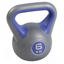 Aktivsport kettlebell 6 kg műanyag bevonattal Sportszer Aktivsport