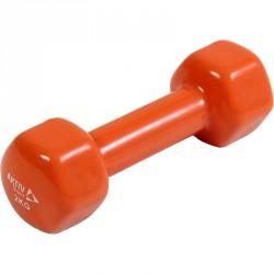 Kézisúlyzó vinyl Aktivsport 2 kg narancs Sportszer Aktivsport