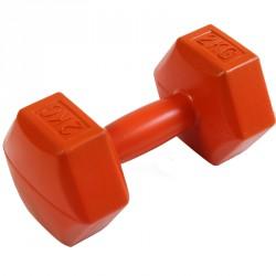 Kézisúlyzó cementes Aktivsport 2 kg narancs Sportszer Aktivsport