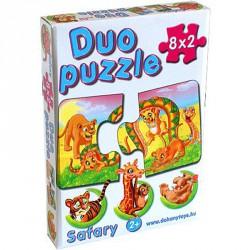 Duo puzzle szafari Puzzle