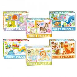First puzzle járművek Puzzle