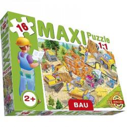 Maxi puzzle építkezés Puzzle