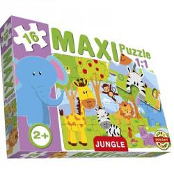 Maxi puzzle dzsungel Puzzle