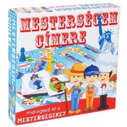 Mesterségem címere társasjáték Szórakoztató játékok