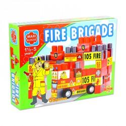 Maxi blocks tűzoltóság Építőjátékok