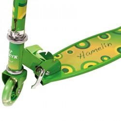 Amaya Hamelin gyermek roller zöld 3 kerekű roller Amaya