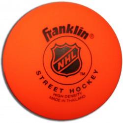 Utcai hokilabda Franklin vinyl narancs kemény Sportszer