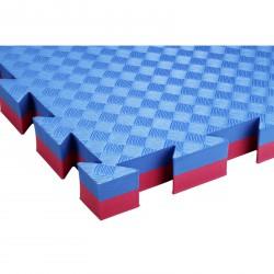 Trendy Double Judo 100x100x4 cm puzzle sportszőnyeg piros-kék Sportszer Trendy