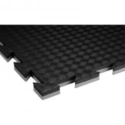 Trendy Double Stand.,100x100x2 cm puzzle szürke-fekete Fitnesz, tornaszőnyegek Trendy