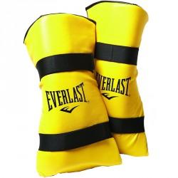 Everlast Lábszárvédő lábfejvédővel sárga Sportszer Everlast