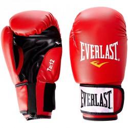 Edzőkesztyű Everlast Moulded bőr piros Sportszer Everlast