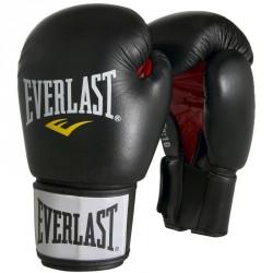 Edzőkesztyű Everlast Moulded bőr fekete Sportszer Everlast