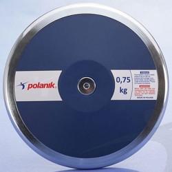 Verseny diszkosz Polanik kék 0,75 kg 6 mm Sportszer Polanik