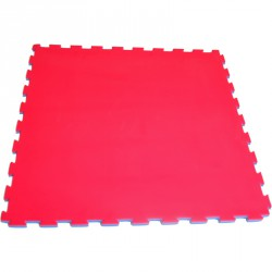 Puzzle szőnyeg 100x100x3 cm piros-kék Sportszer Drenco