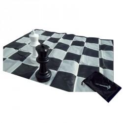 Kültéri sakktábla nylon 256x256 cm