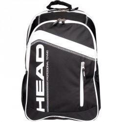 Tenisz táska Head Core Backpack fekete Tenisz squash táska Head
