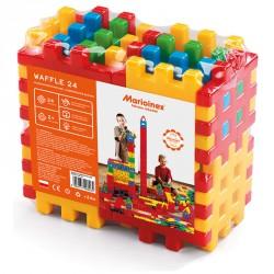 Waffle Építőkocka 24 db Fejlesztő játékok