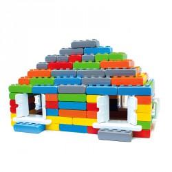 Építőkocka Junior 140 db Fejlesztő játékok