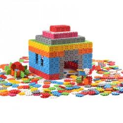 Waffle Építőkocka 500 db Fejlesztő játékok