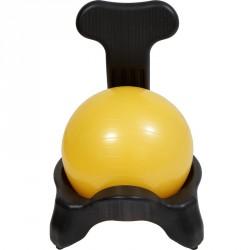 Fitnesz szék Aktivsport háttámlás labdával Black Friday Aktivsport