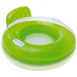 Fotelmatrac Intex kapaszkodóval zöld Sportszer Intex