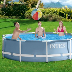 Vízforgatós medence szett fémvázas Intex 305x76 cm BLACK FRIDAY Intex