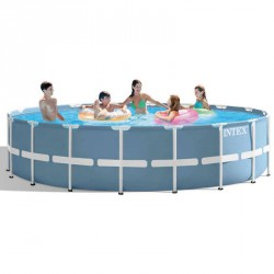 Vízforgatós medence szett fémvázas Intex 549x122 cm Sportszer Intex