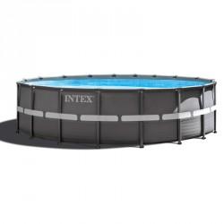 Fémvázas medence szett Intex Ultra Frame 427x107 cm Medence Intex
