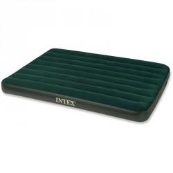 Felfújható ágy Intex Prestige 191x137x22 cm zöld Sportszer Intex