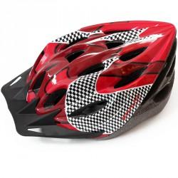 Helm Tour sisak piros Sportszer Spartan