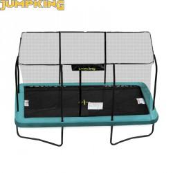 Trambulin Jumpking szögletes 244x366 cm Sportszer Jumpking