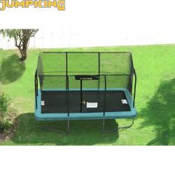Trambulin Jumpking szögletes 305x427 cm Sportszer Jumpking