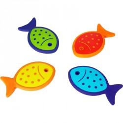 Mozgásfejlesztő halacskák Egyensúlyozó eszközök Gonge