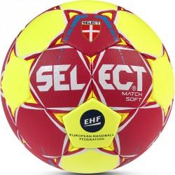 Kézilabda Select Match Soft EHF 2017 piros-sárga Sportszer Select