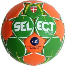 Kézilabda Select Circuit zöld-narancs 450 g Sportszer Select