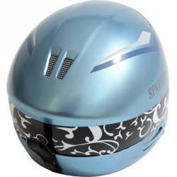 Sí sisak - férfi, fiú kék Sí, snowboard sisak Spartan