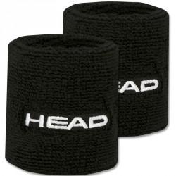Head Wristband 2,5 csuklószorító fekete Sportszer Head
