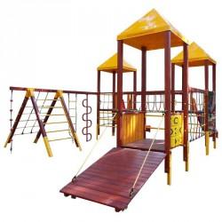 Vár IV. Kombinó mászókával Játszótéri eszközök