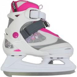 Soft Judith jégkorcsolya fehér-rózsaszín Sportszer