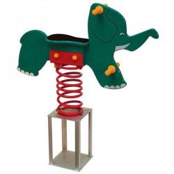 Elefánt rugós játék Játszótéri eszközök