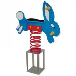 Nyuszi rugós játék Játszótéri eszközök