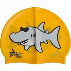Úszósapka Swimfit cápás narancssárga BLACK FRIDAY Swimfit