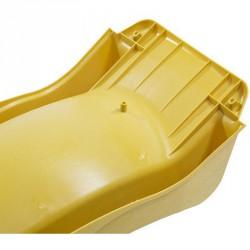 Hullámcsúszda 2,9 m sárga Csúszdák