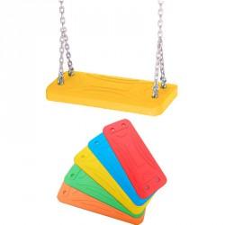 Alubetétes laphinta gumiborítású 1,8 m-es lánccal citromsárga Játék