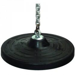 Fémbetétes tányérhinta kerek 2,5 méteres rozsdamentes lánccal Játék